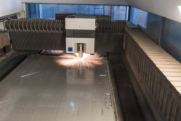 Laserschneiden Blech